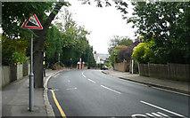 TQ2572 : Arthur Road - Steep Hill 10% by Adam Morse