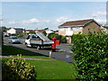 ST7317 : Stalbridge: postbox № DT10 173, Blackmore Road by Chris Downer