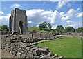 NY5415 : Shap Abbey by Dennis Turner