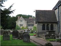 TQ3632 : St Margarets Church porch by Dave Spicer
