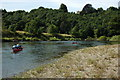 SO5621 : Canoeists on the Wye by Philip Halling