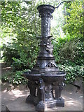 SJ3595 : Drinking Fountain, Derby Park by Sue Adair
