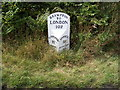 TM4479 : Brampton Milepost on the A145 London Road by Adrian Cable