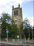 SE0824 : The Parish Church of St Jude, Halifax by Alexander P Kapp