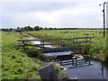 TM4598 : Bridge over the drainage ditch at Haddiscoe by Adrian Cable