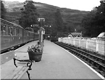 SH6441 : Tan y Bwlch station, Festiniog Railway by Dr Neil Clifton