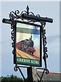 TL9863 : Pub Sign by Keith Evans