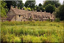 SP1106 : Arlington Row cottages in Bibury by Steve Daniels