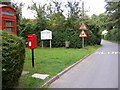 TM4169 : Post Office Postbox  & The Street, Darsham by Geographer