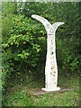 NS4062 : National Cycle Network milepost by Richard Webb