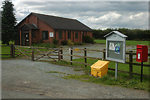 SJ3929 : Lower Hordley Village Hall by Row17