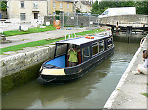 ST8260 : Canal boat on the way up the Kennet and Avon canal (4) by Brian Robert Marshall