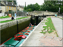 ST8260 : Canal boat on the way down the Kennet and Avon canal (9) by Brian Robert Marshall