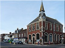 SY9287 : Town Hall and Museum, Wareham by Robin Drayton