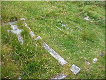 NG3254 : Graves at Diubaig by John Allan