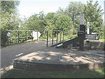 TL4311 : Footbridge at Parndon Lock by Stephen Craven