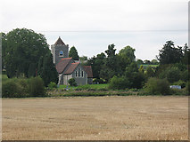 TL4311 : View across the fields to St Botolph's by Stephen Craven
