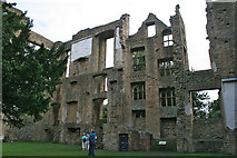 SK4663 : Hardwick Old Hall: east wing by Kate Jewell