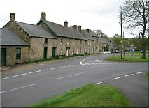 NY9393 : Crawford Crescent  Elsdon Village by Anna Rutherford