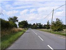 TM4160 : B1121 Saxmundham Road, Friston by Geographer