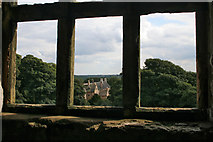 SK4663 : Looking southward from Hardwick Old Hall by Kate Jewell