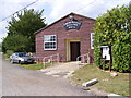 TM4361 : Knodishall Village Hall by Adrian Cable