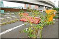 J3474 : Disused car park, Belfast by Albert Bridge