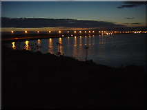 SY6774 : Portland Harbour, Dusk by Ivan Hall