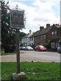 TQ4956 : Chipstead Village Sign by David Anstiss