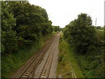 SU2363 : Durley - Railway Line by Chris Talbot