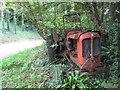 SS2104 : An old Nuffield Universal tractor rusting away on the verge by Rod Allday