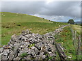 SO0414 : Wall, fence and open moorland by Gareth James