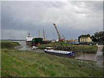 TA0623 : Barrow Haven at Low Tide by David Wright