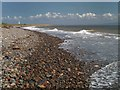SD2161 : The beach at South Walney nature reserve by Steve  Fareham