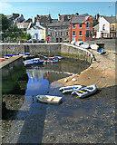 SC2667 : Castletown Inner Harbour slipway by Andy Stephenson