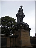 NZ2465 : Statue of Lord Armstrong, outside Hancock museum by hayley green