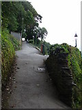 SS7249 : Footpath to Lynton by Ruth Sharville