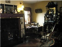 SJ6903 : Inside the doctor's house at Blist Hill Open Air Museum (1) by Basher Eyre
