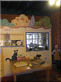 SJ6902 : Child friendly area within the Coalport Museums by Basher Eyre