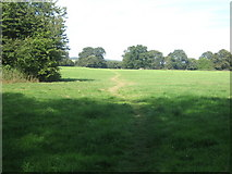 TR0245 : Footpath to Wilmington Farm by David Anstiss