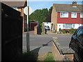 TR0245 : Footpath across Tritton Fields by David Anstiss