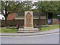TM3055 : Wickham Market War Memorial by Adrian Cable