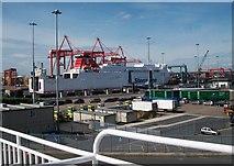 O2034 : The Stena Nordica from the Irish Ferries' Jonathan Swift by Eric Jones