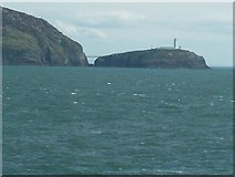 SH2082 : The South Stack from the North by Eric Jones