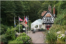 SZ5881 : Heritage Centre, Shanklin Chine by Peter Trimming