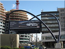 TQ3282 : Old Street Roundabout, London by Richard Rogerson