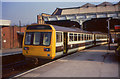 SJ8399 : Pacer train at Manchester Victoria by Stephen Craven