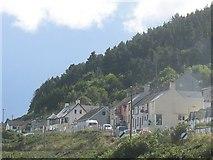 J3829 : Houses above the Kilkeel Road by Eric Jones