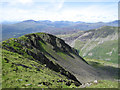 SH6545 : The NW end of Moelwyn Mawr by Dave Croker