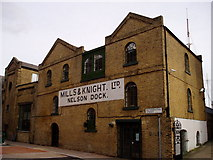 TQ3680 : Mills and Knight in Rotherhithe Street by Chris Lordan